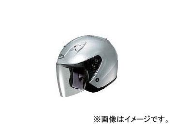 2輪 HJC ヘルメット FS-33ソリッド シルバー サイズ:S,M,L,XL