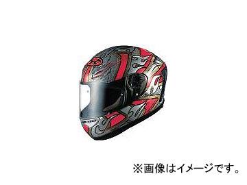 2輪 OGKカブト ヘルメット FF-5V グリッツァ レッド サイズ:S,M,L,XL,XXL