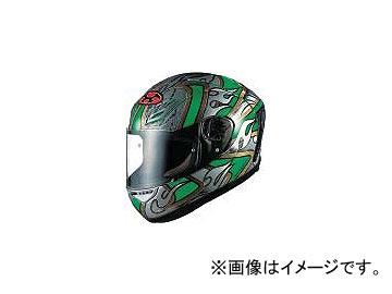 2輪 OGKカブト ヘルメット FF-5V グリッツァ グリーン サイズ:S,M,L,XL,XXL
