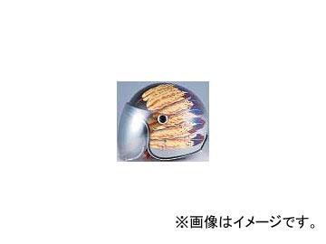 2輪 72ジャムジェット ヘルメット #51 Fifty one Feather Design P044-1898 イエロー 52~55cm