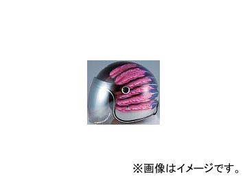 2輪 72ジャムジェット ヘルメット #51 Fifty one Feather Design P044-1899 ピンク 52~55cm