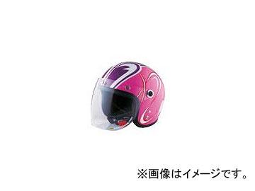 2輪 72ジャムジェット ヘルメット SP TADAO JET レディース P040-5785 ピンク 55~58cm