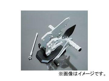 2輪 スパイス バックステップ 0102BS1K101B シルバー カワサキ ZX-12R