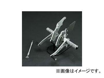 2輪 スパイス バックステップ 0102BS1K113B シルバー カワサキ ZRX1100/1200/ダエグ