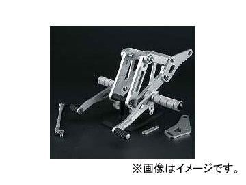 2輪 スパイス バックステップ 0102BS1K104B シルバー カワサキ ゼファー1100/RS