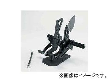 2輪 スパイス バックステップ 0102BSB1K112B ブラック カワサキ Z1000/750 2007年~2009年