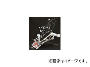 2輪 ウッドストック バックステップ P012-7040 OBタイプ 逆チェンジ可 カワサキ ZX-7R/RR