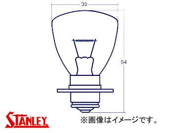 スタンレー/STANLEY ヘッドランプ・フォグランプ用電球(つば付きシングル) 24V 40W 黄 A5585MY 入数:10個