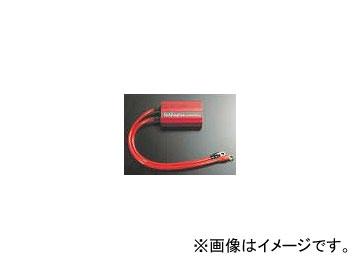 2輪 サン自動車 ホットイナズマ P023-6459 レッド 12V用 汎用