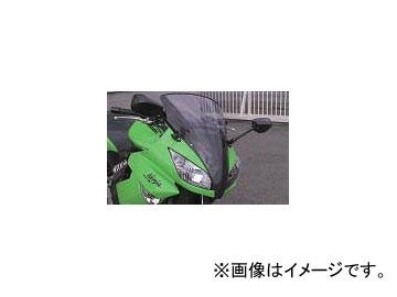 2輪 エーテック トリムスクリーン(スモークスクリーン付) P044-4414 綾織カーボン カワサキ ニンジャ400R