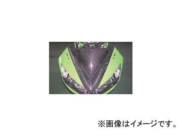 2輪 エーテック スクリーンインナーパネル P044-4376 綾織カーボン カワサキ ニンジャ400R