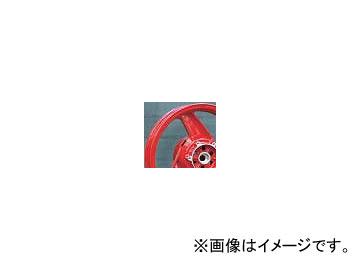 2輪 スペックエンジニアリング 純正流用ワイドホイールキット typeB 17インチ P044-4606R レッド 5.50-17 リヤ カワサキ GPZ900R A7-