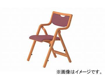 ナイキ/NAIKI 木製チェアー 高齢者福祉施設用 ローズ E242-RO 535×545×775mm