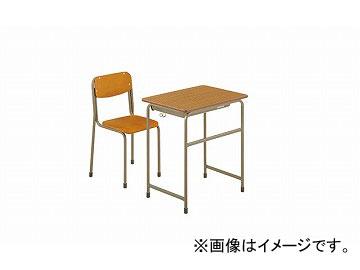 ナイキ/NAIKI 学校用デスク 4号 NKG-2454-DD0 650×450×640mm