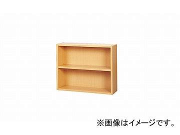 ナイキ/NAIKI 木製書架 直立型2段 SSK-T2 900×270×715mm