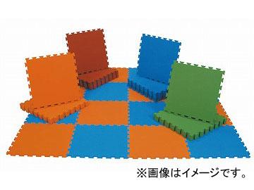 ナイキ/NAIKI 防炎マット ブルー EVM9-BL 900×900×15mm
