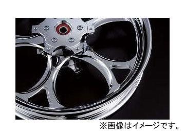 2輪 リズム ホイール OLYMPIC 18インチ P032-2406 ポリッシュ 350-18 フロント ヤマハ V-MAX1200