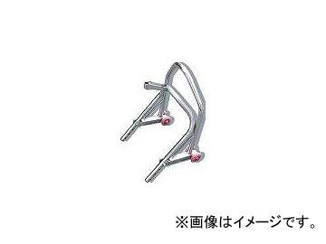 2輪 エトスデザイン ミニフロントアップスタンド P020-2116 クロームメッキ スチール製