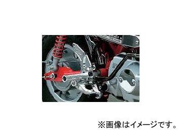 2輪 オーヴァーレーシング バックステップ P036-5428 シルバー ホンダ モンキー-FI