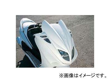 2輪 スキューバ フロントフェイスパネル SBP2990101 白ゲル ヤマハ マジェスティ/C 2000年~2006年