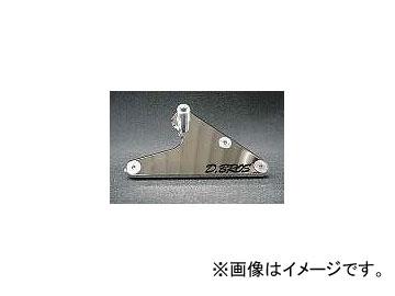 2輪 ディーブロス ラグクロームミラー STDガラス(無色) G・MAJESTY 032-GM-00 メッキ