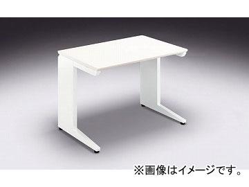 ナイキ/NAIKI リンカー/LINKER カスティーノ 平デスク Sタイプ ホワイト/クリアーホワイト CND106F-WH 1000×650×700mm