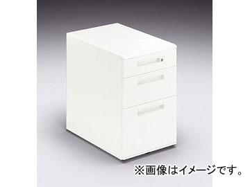 ナイキ/NAIKI リンカー/LINKER カスティーノ ワゴン 3段 クリアーホワイト CND046SXC-W 395×600×611mm