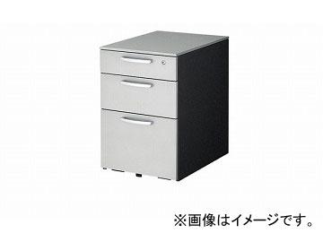 ナイキ/NAIKI リンカー/LINKER トリアス ワゴン 3段 シルバー TR046XC-SVD 395×580×611mm