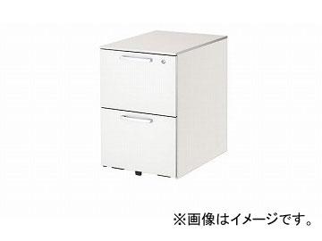 ナイキ/NAIKI リンカー/LINKER トリアス ワゴン 2段 ホワイト TR046YC-HH 395×580×611mm