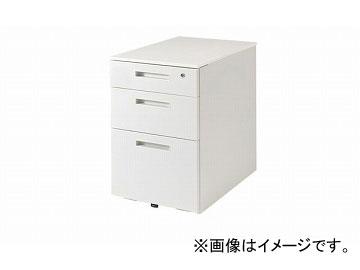ナイキ/NAIKI リンカー/LINKER トリアス ワゴン 3段 クリアホワイト TRH046XCK-WW 395×580×611mm