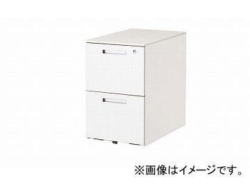 ナイキ/NAIKI リンカー/LINKER トリアス ワゴン 2段 ホワイト TRH046YCK-HH 395×580×611mm