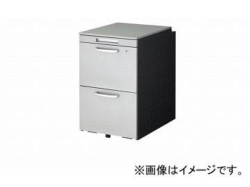 ナイキ/NAIKI リンカー/LINKER トリアス ワゴン 2段 シルバー TR046HC-SVD 395×580×650mm