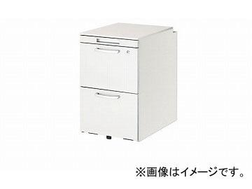 ナイキ/NAIKI リンカー/LINKER トリアス ワゴン 2段 クリアホワイト TR046HC-WW 395×580×650mm