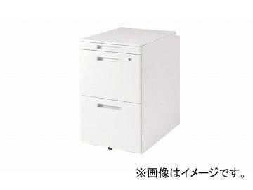 ナイキ/NAIKI リンカー/LINKER トリアス ワゴン 2段 ホワイト TRH046HCK-HH 395×580×650mm