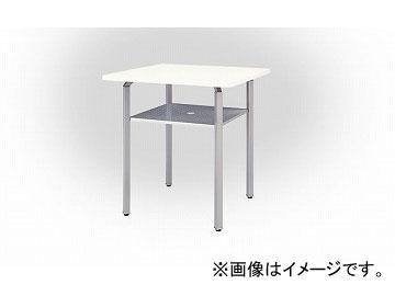 ナイキ/NAIKI リンカー/LINKER ウエイク ミーティングテーブル ハイタイプ シルバー/ホワイト WKH099-SVH 900×900×950mm