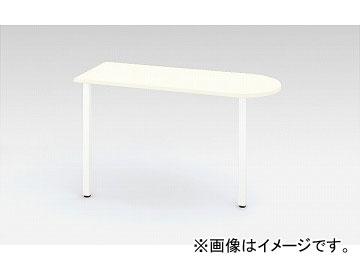 ナイキ/NAIKI リンカー/LINKER サイドミーティング用テーブル ホワイト/クリアーホワイト CHD124ST-WH