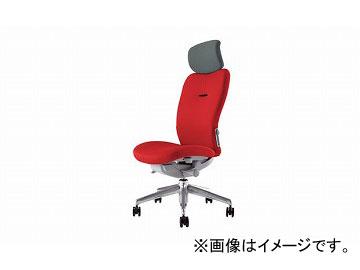 ナイキ/NAIKI リンカー/LINKER エネア 事務用チェアー レッド ZE512F-RE 615×590×1100~1185mm