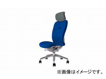 ナイキ/NAIKI リンカー/LINKER エネア 事務用チェアー ブルー ZE512F-BL 615×590×1100~1185mm