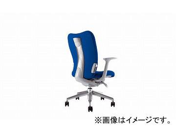 ナイキ/NAIKI リンカー/LINKER エネア 事務用チェアー ブルー ZE511F-BL 620×590×900~985mm