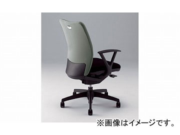 ナイキ/NAIKI リンカー/LINKER シェルモ 事務用チェアー グレー WE513F-GL 619×620×908~978mm