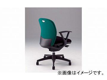 ナイキ/NAIKI リンカー/LINKER シェルモ 事務用チェアー グリーン WE511F-GR 619×620×829~899mm