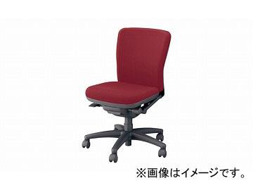 ナイキ/NAIKI ネオス/NEOS フィーモ 事務用チェアー ME型 レッド ME510F-RO 620×592×825~895mm