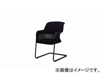 ナイキ/NAIKI ジロフレックス434/giroglex434 輸入チェアー キャンチレバー ブラック 434-701210S-475 575×598×815mm