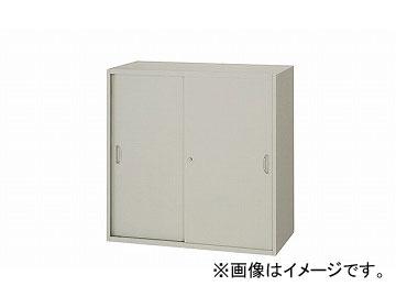 ナイキ/NAIKI ネオス/NEOS スチール引違い書庫 2枚扉 ウォームホワイト NW-0909H-AW 899×450×900mm