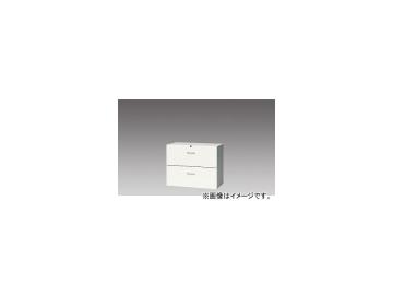 ナイキ/NAIKI リンカー/LINKER ファイル引出し シルバー/クリアホワイト CW-0907S-2-SVW 899×450×700mm