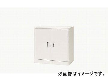 ナイキ/NAIKI 奥深両開き書庫 ウォームホワイト K337N-AW 880×515×880mm