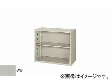 ナイキ/NAIKI オープン書庫 ウォームホワイト HN308-AW 880×400×750mm