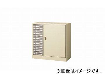 ナイキ/NAIKI パンフレットケース B4浅型1列18段 STDC18S-B4 880×400×880mm
