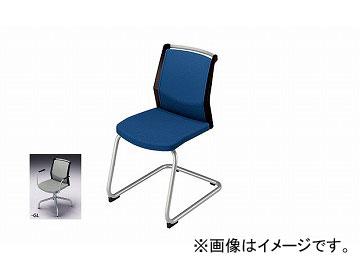 ナイキ/NAIKI 会議用チェアー キャンチレバー脚/背パッドタイプ グレー E297F-GL 463×590×822mm