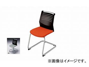 ナイキ/NAIKI 会議用チェアー キャンチレバー脚/背ヌードタイプ グレー E297-GL 463×590×822mm